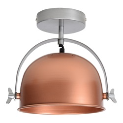 Urban interiors - Ceiling lamp Retro Ø22cm Copper