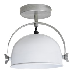 Urban interiors - Ceiling lamp Retro Ø22cm Glossy white