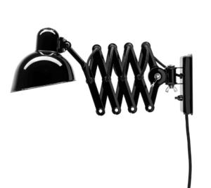 Sort sakselampe fra Kaiser Idell